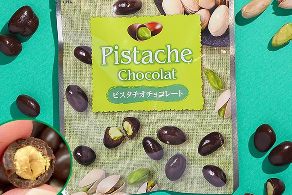 日本新出开心果零食甜品 原粒开心果朱古力/开心果雪糕/开心果布丁