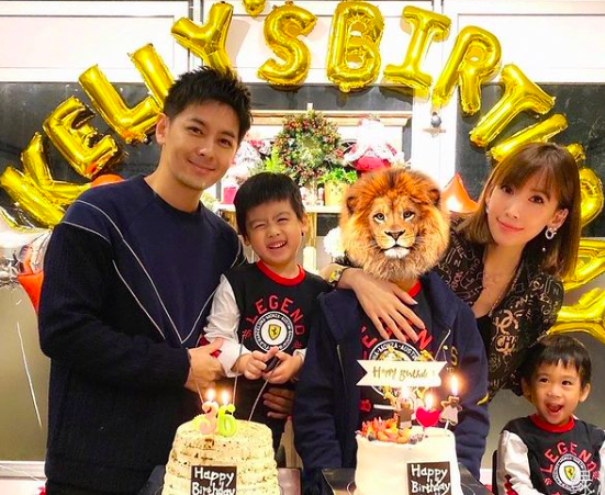 Jimmy Lin shares photo of family, sparks new attacks on wife Kelly Chen