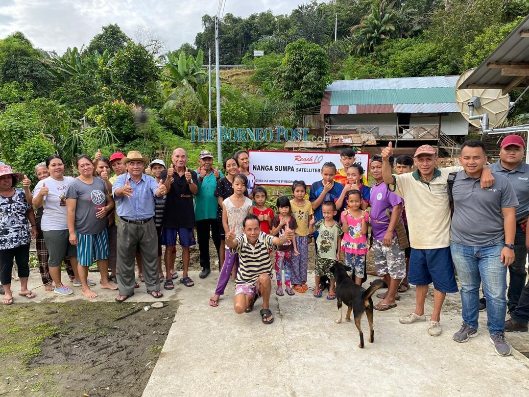 No more jungle treks for internet as Nanga Sumpa community goes online with satellite broadband by Reach 10