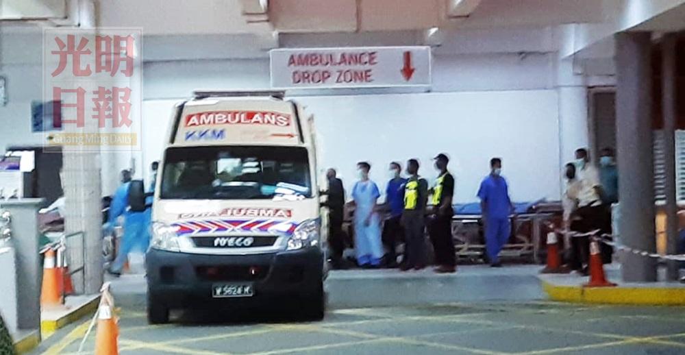 【与私枭鎗战】转槟城医院加护病房 中弹伍长将动手术