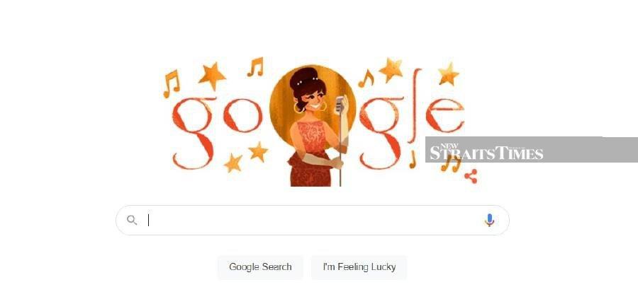 Google doodle honours Saloma