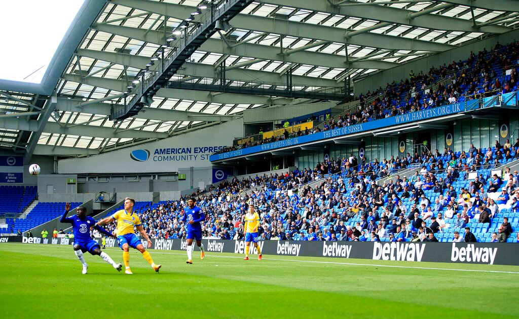 Premier League clubs given green light for return of up to 2,000 fans