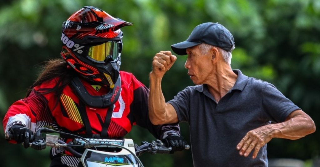 Once Our National Racing Champion, He's Now Retired & Runs His Own Motocross Park In KL