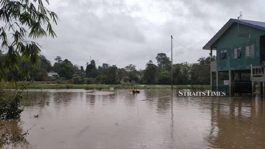 Five GOF posts inundated by flood waters