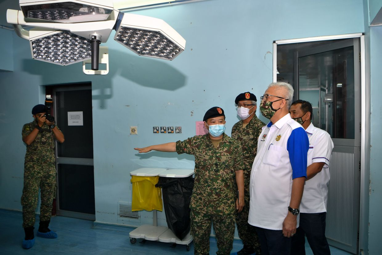 Govt to upgrade 94 Armed Forces Hospital in Terendak Camp, says Ismail Sabri
