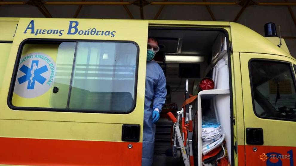 COVID-19 deaths hit new daily record in Greece