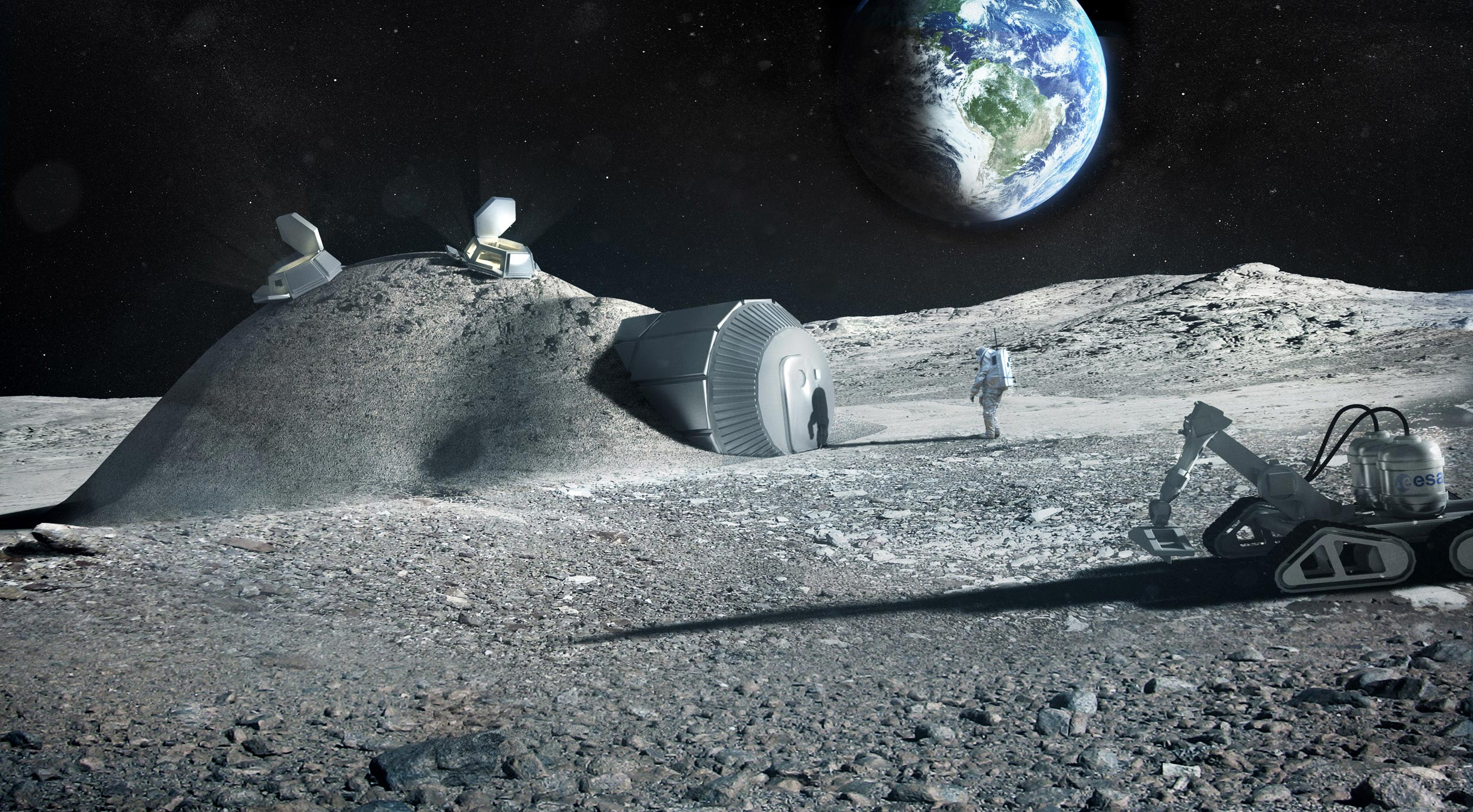 Turning Lunar Dust Into Oxygen – And Using the Leftovers to 3D Print a Moon Base