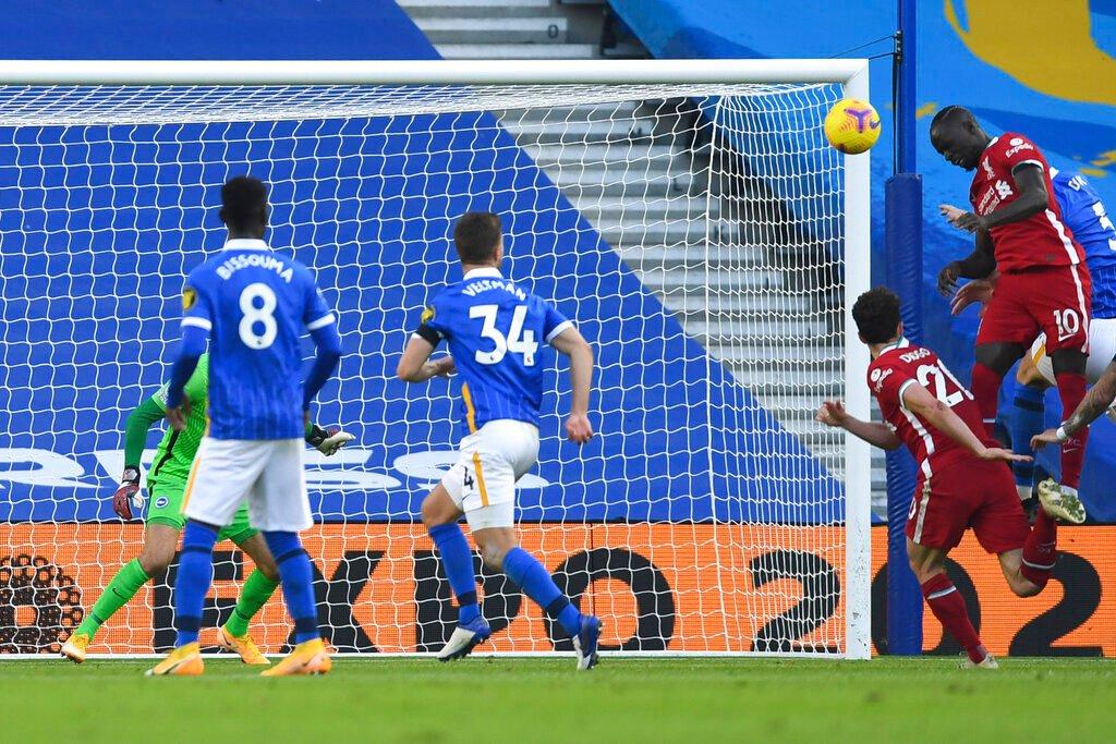 Late VAR drama denies Liverpool win at Brighton