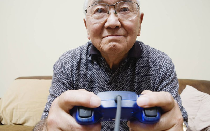 Grandparents have started gaming to stay in touch with grandkids