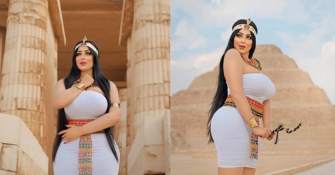 埃及女模金字塔前拍照 传摄影师被捕