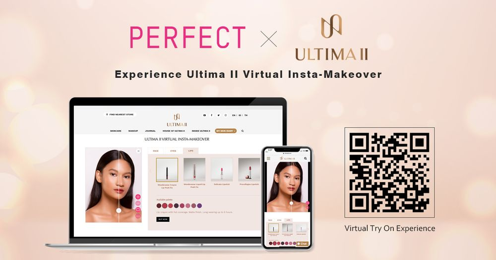 Perfect Corp teams up with Ultima II to launch AR & AI virtual make-over