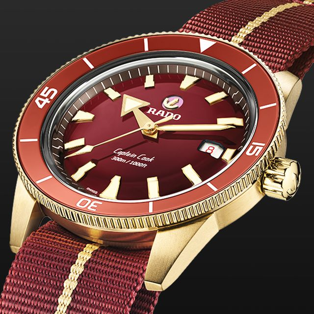 Rado Is Releasing the Fan-Favorite Captain Cook Diver in a Striking Burgundy and Bronze Combo