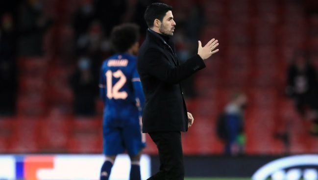 Arteta feels returning Arsenal fans made players 'want it' more