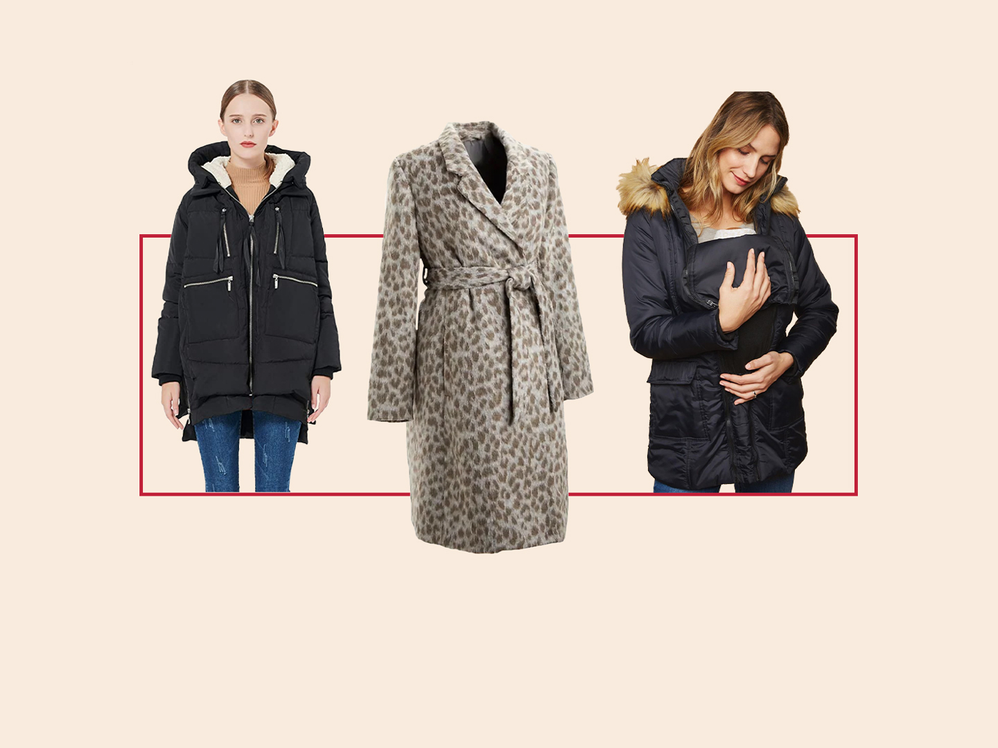 Stylish Winter Coats That Fit Over a Pregnant Belly