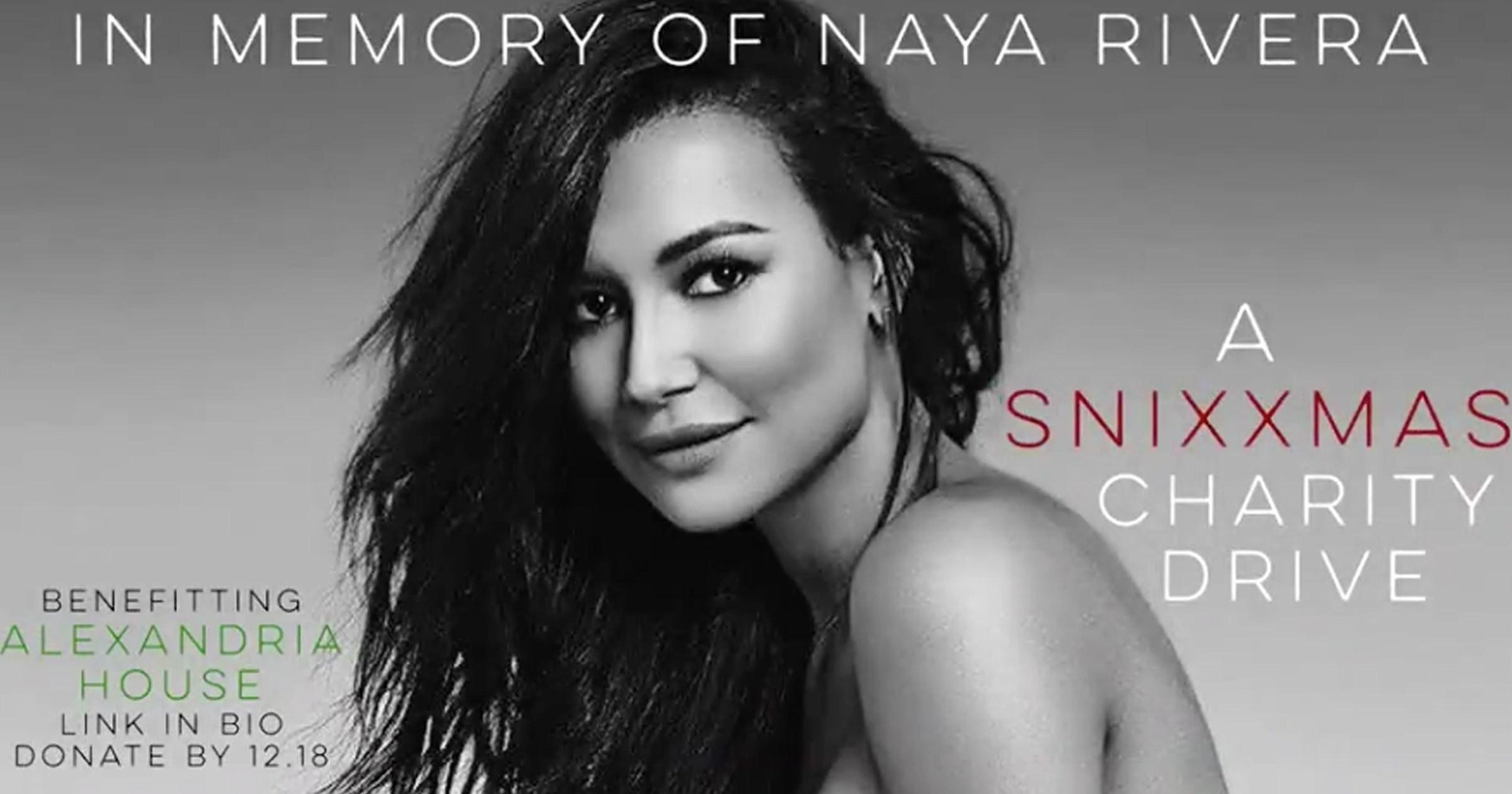 Glee cast launch Christmas charity fundraiser in Naya Rivera's memory