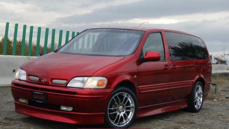 Here is the hot-rod Oldsmobile minivan you forgot existed