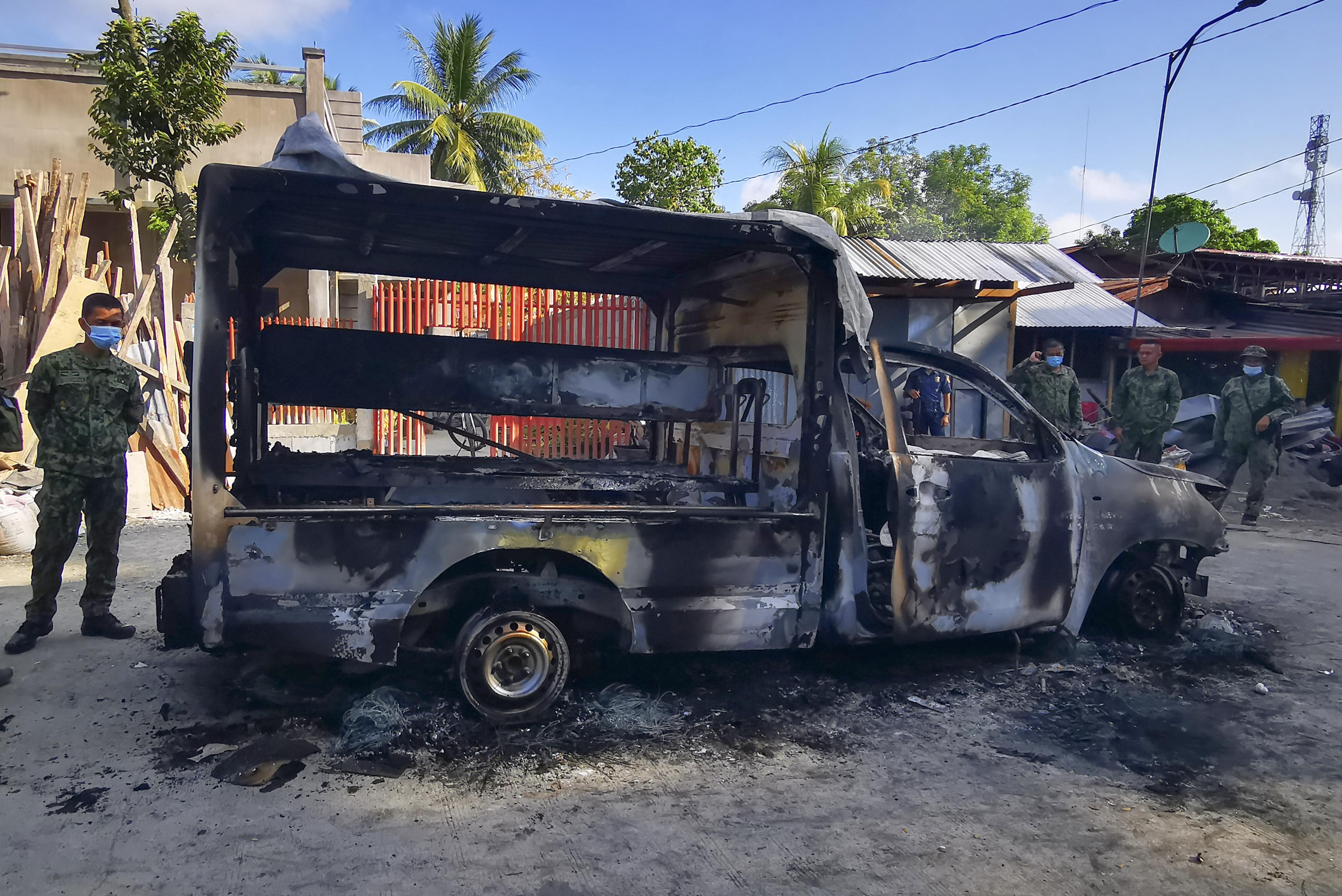 菲律宾伊斯兰武装分子袭菲南