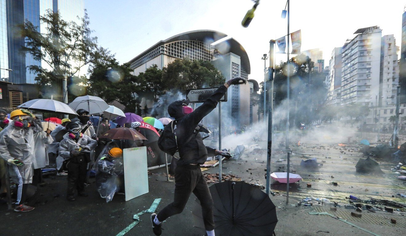 Beijing's top man in Hong Kong blames colonial mindset for 'chaos' in city, but says national security law has restored order