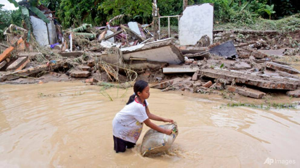 Rains in western Indonesia leave 5 dead, 2,700 homes flooded