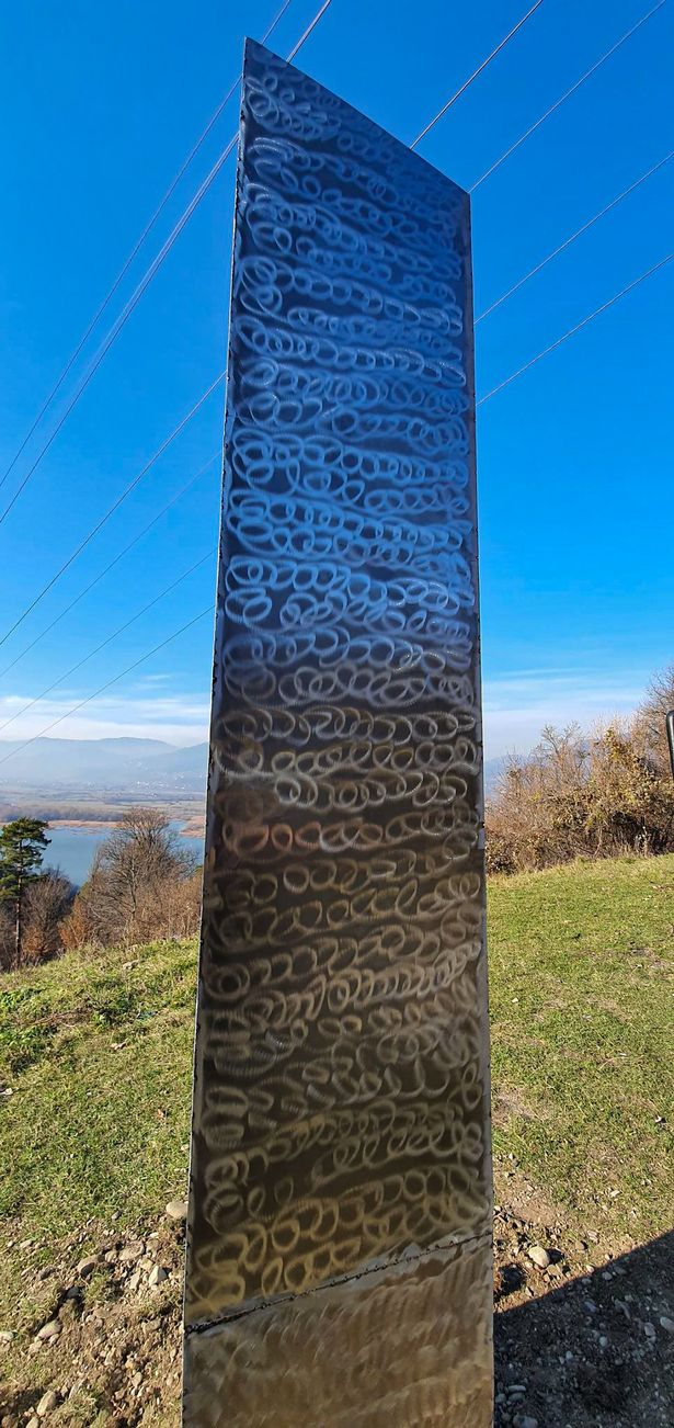 Mystery of monoliths 'solved' as artists claim responsibility - and sell them for £35,500