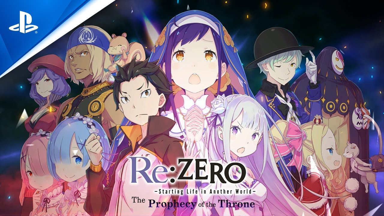 Re:ZERO -Starting Life in Another World- The Prophecy of the Throne - Character Trailer | PS4