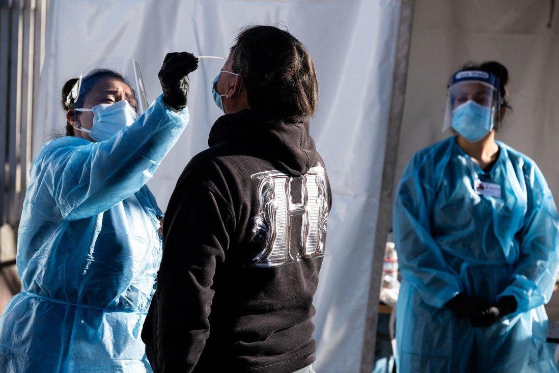 US coronavirus cases shatter records, San Francisco imposes lockdown