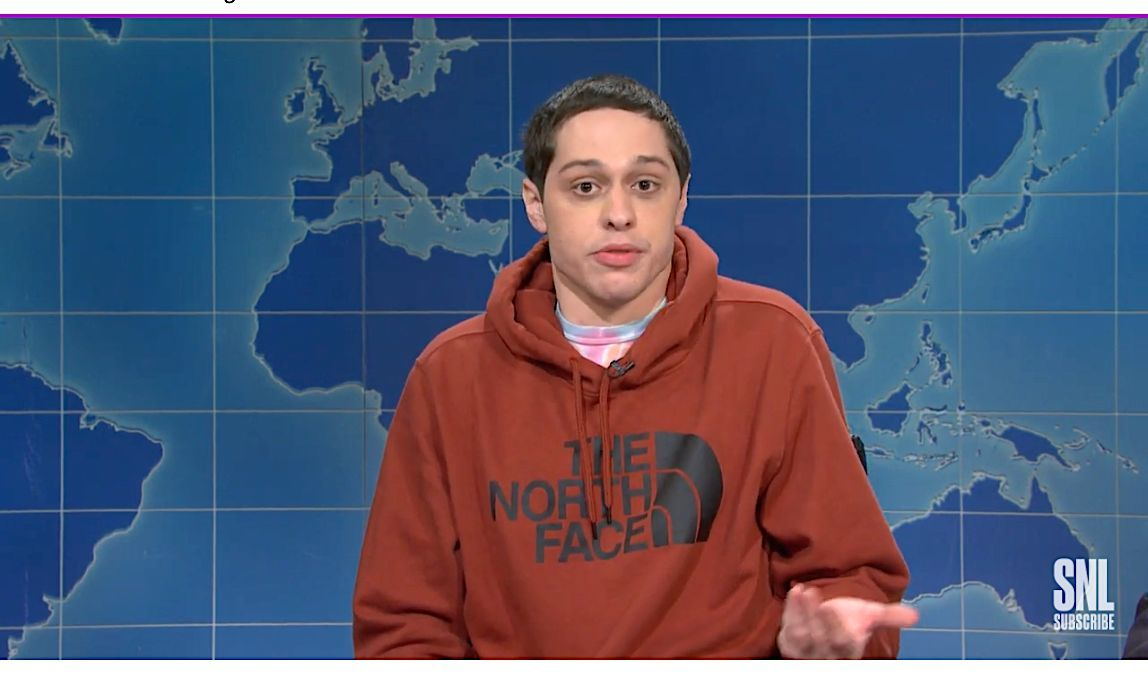 Pete davidson skewers staten island 'babies' WHO protest covid-19 rules
