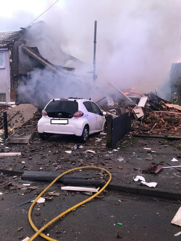 Illingworth explosion: Dad and son jumped from blaze then asked 'where's mum?'