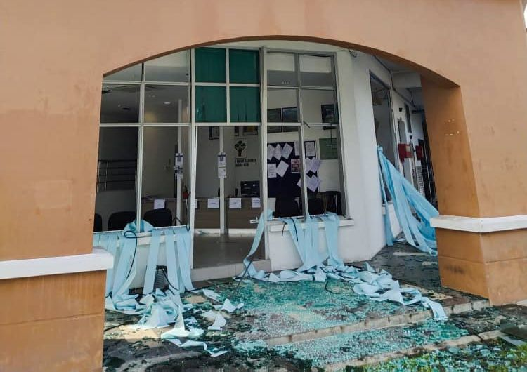Explosion at Miri Forest Dept office leaves one office staff injured