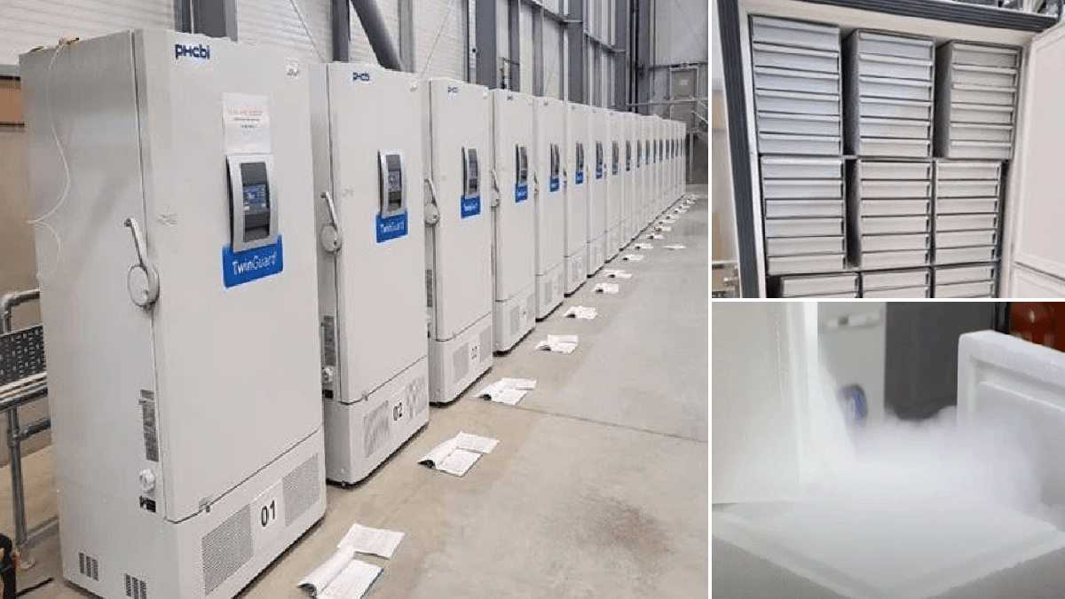 Covid vaccine freezers in secure UK location as millions await 'historic' rollout