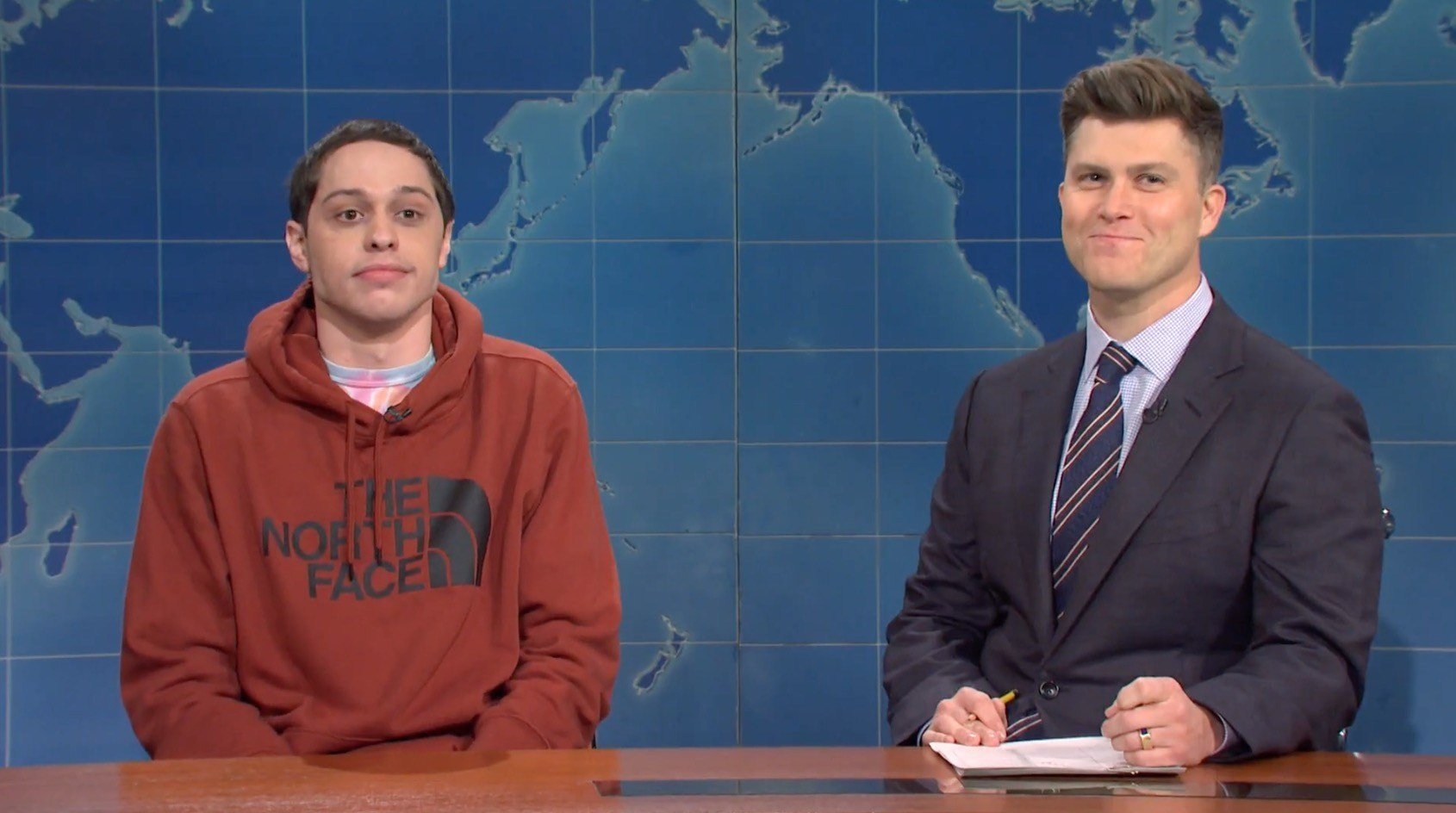 Saturday Night Live's Pete Davidson has discovered there's a vibrator with his face on it