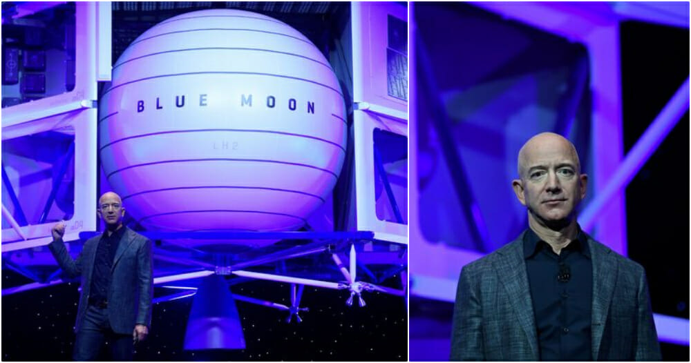 Jeff Bezos Announces Plans To Send The First Woman To The Moon By 2024