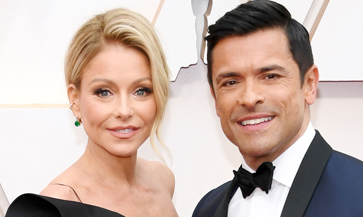 Kelly Ripa shares rare photo of son Michael - and he's identical to dad Mark Consuelos