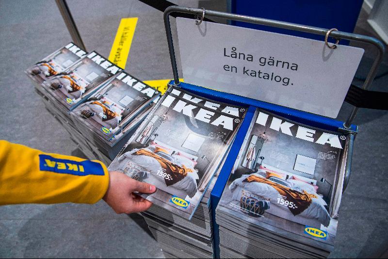 客户转向数位版 IKEA纸本型录走过70载将成历史
