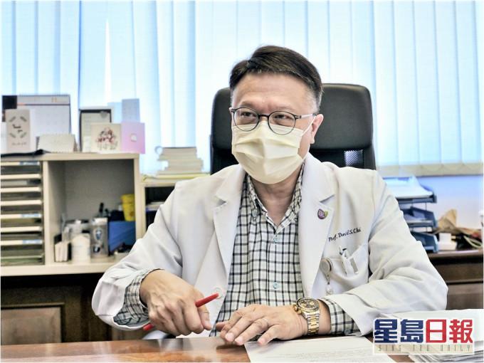 许树昌不建议採购辉端疫苗 难以运送兼接种程序繁复