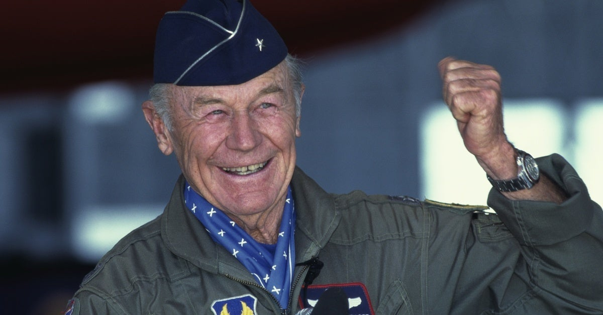 Historic Pilot Chuck Yeager, Inspiration for The Right Stuff, Passes Away at 97