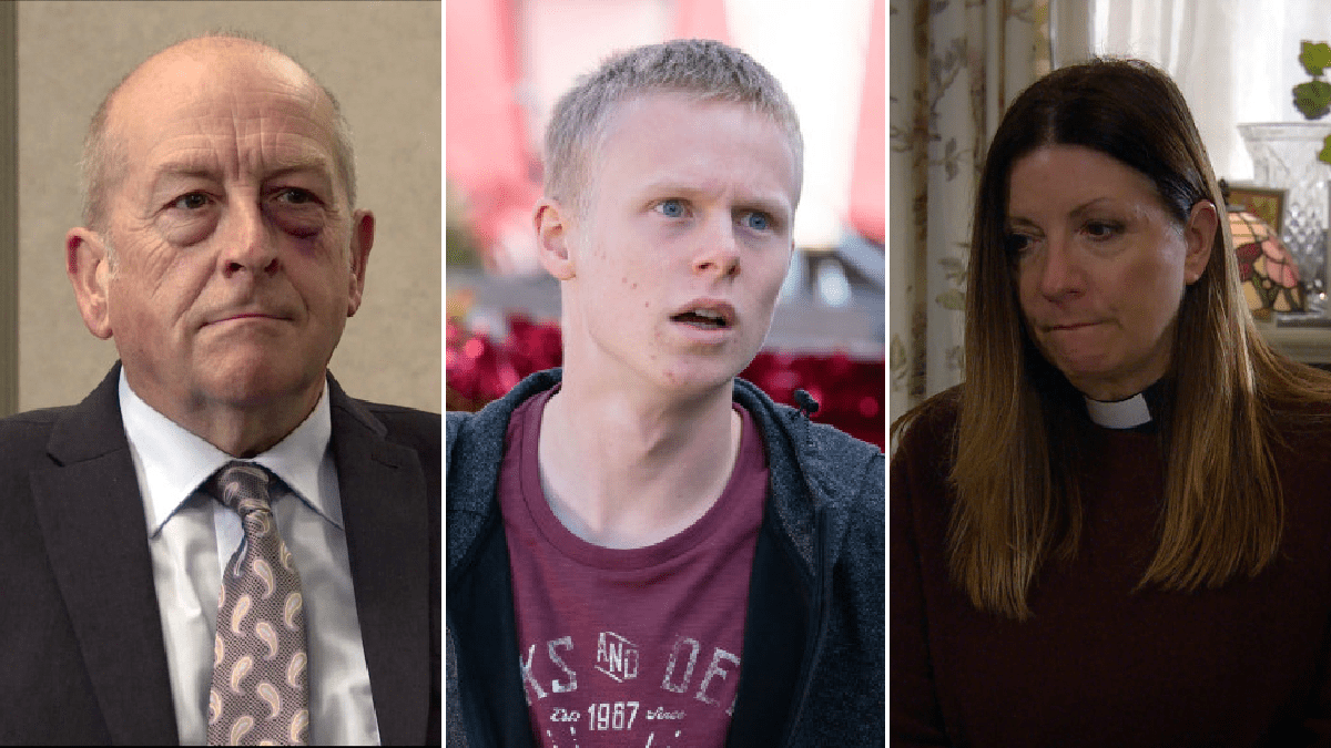 10 soap spoilers this week: Coronation Street anniversary, EastEnders 'Who attacked Ian?', Emmerdale death trauma, Hollyoaks drug terror