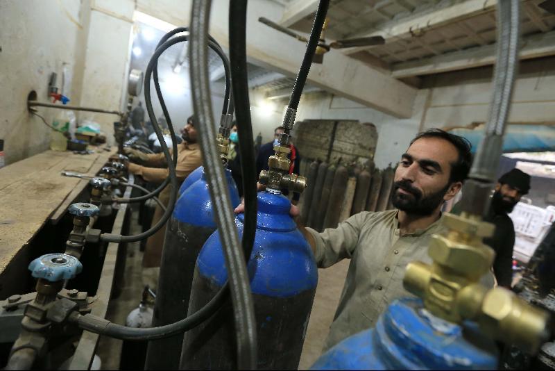巴基斯坦医护涉疏忽 5冠病患者缺氧死