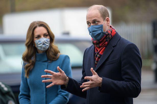 William and Kate accused of 'breaking lockdown rules' as royal couple visit Edinburgh