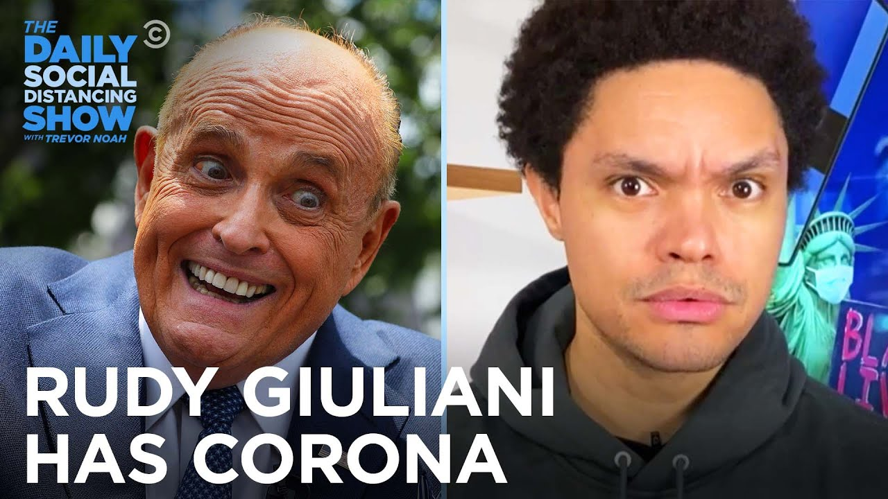 Rudy Giuliani Gets Corona & Farts On Camera | The Daily Social Distancing Show