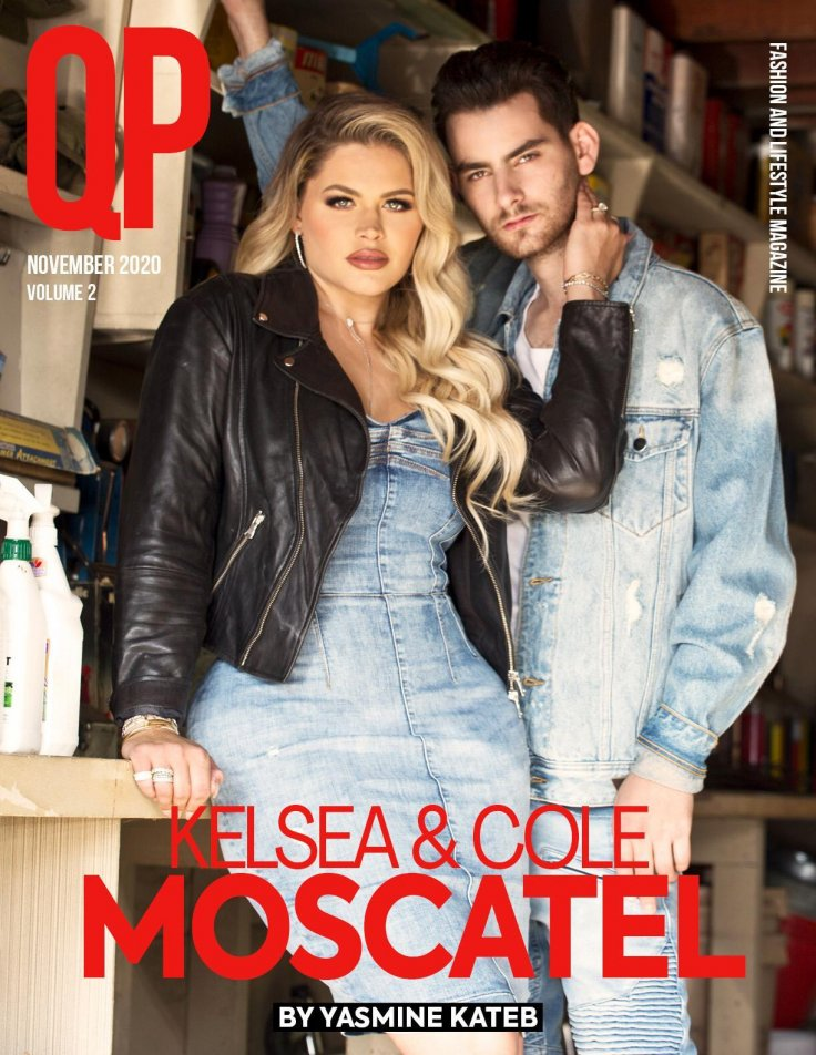 The Moscatel's are The Latest Cover of QP Magazine
