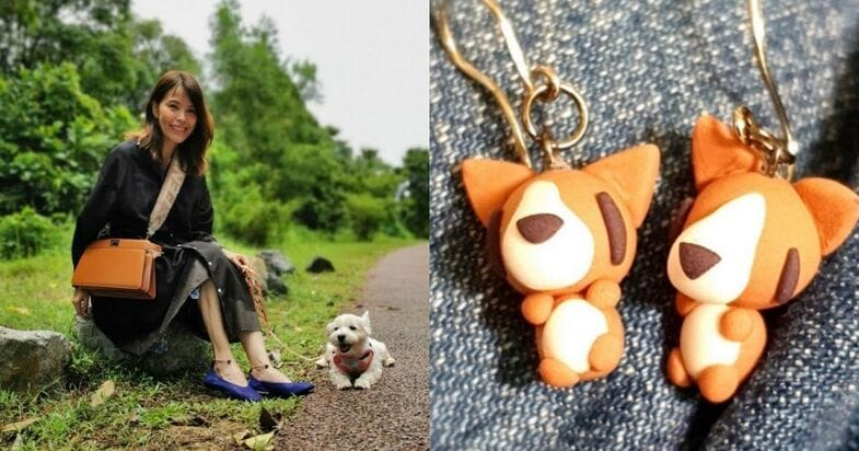 Zoe Tay's 13-Year-Old Son Crafts Earrings For Sale To Raise Funds For Animal Shelters