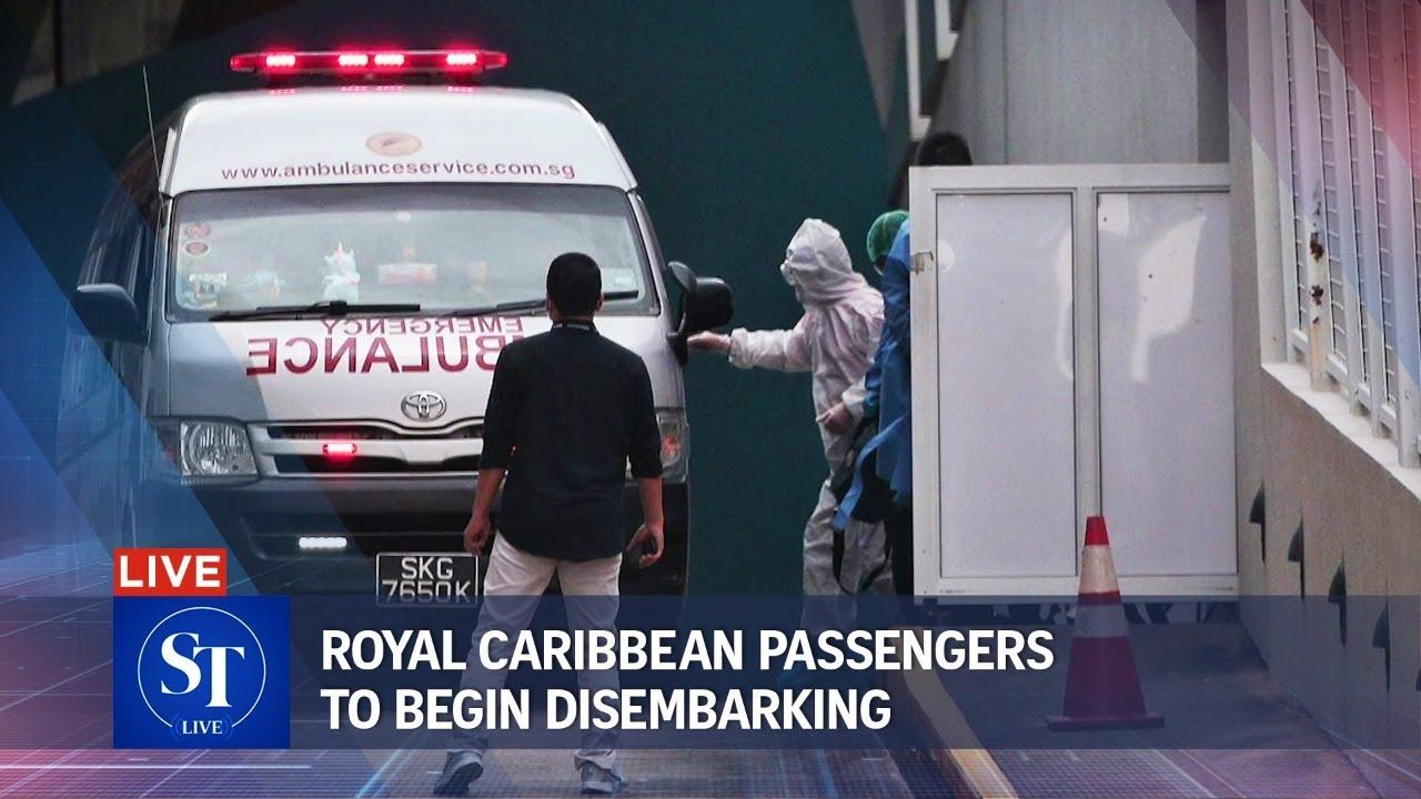 Royal Caribbean cruise passengers to begin disembarking | ST LIVE