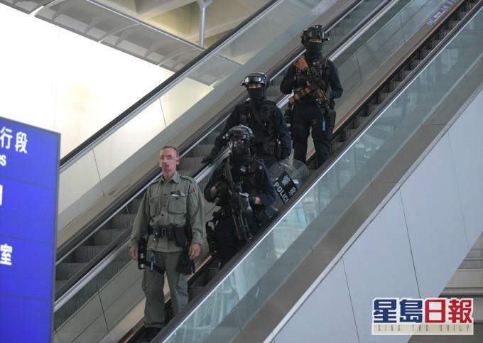 3名驻守机场警区警员初步确诊 接触公众时有戴口罩