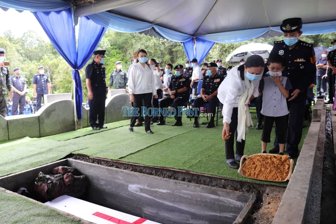 GOF personnel, security guard killed in freak 'kepala air' phenomenon laid to rest