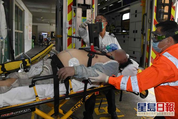 赤柱地盘堕围板 砸中两工人1死1伤