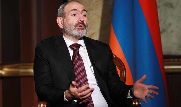 Armenia CRISIS: Thousands block streets in protest as PM refuses to step down