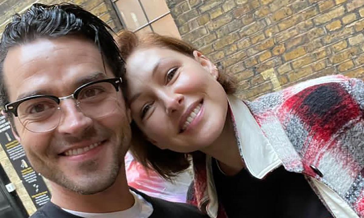 Emma Willis professes love for husband Matt in hilarious selfie