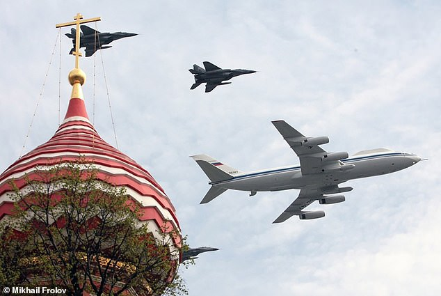 The great plane robbery: Thieves strike Russia's nuke-proof 'Doomsday jet' flying command center and steal radio equipment