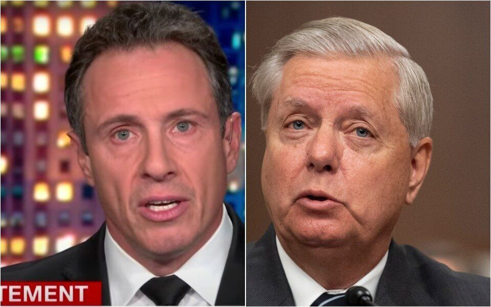 Chris cuomo shreds lindsey graham: 'do your words still come from your brain?'
